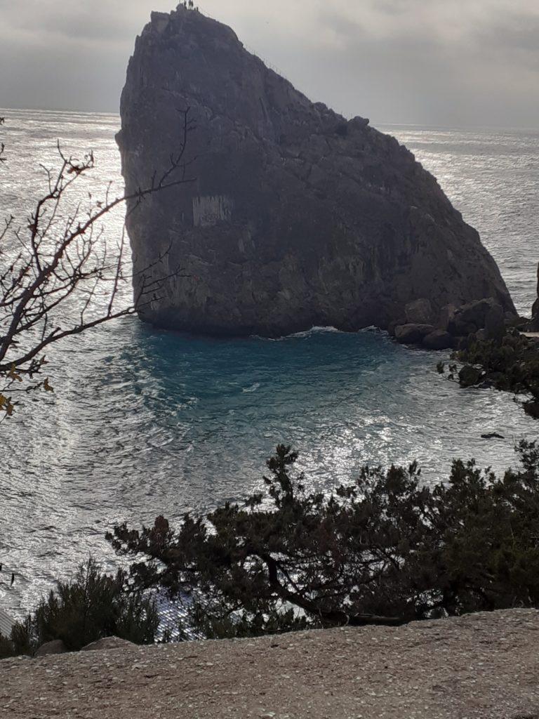 Вид на скалу Дива