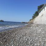 beach Naryshkinsky stones