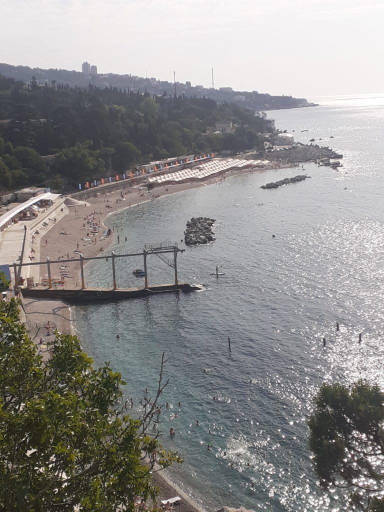 Симеиз пляж у новой набережной