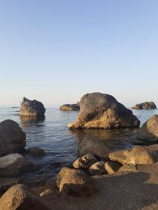 Симеиз пляж санатория им. Семашко