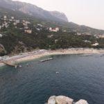 simeiz beach promenade
