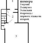 Файл общего плана номера 1 этажа
